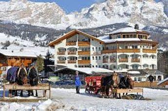 Alta Badia Obergurgl donde esquiar con niños este invierno