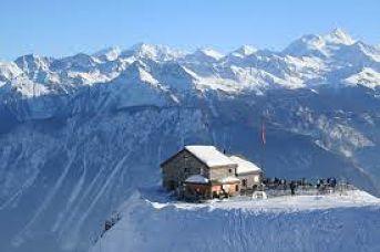 Crans-Montana donde esquiar con niños este invierno