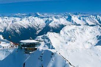 Obergurgl donde esquiar con niños este invierno