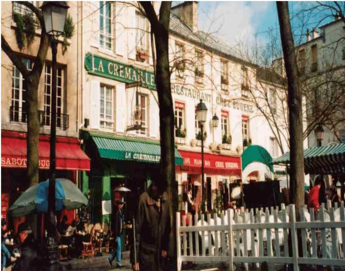 Viajes a Paris Montmartre