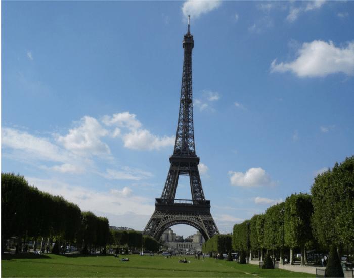 Viajes a Paris Torre Eiffel