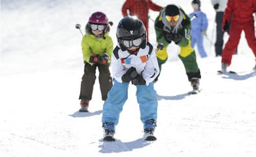 donde esquiar con niños este invierno