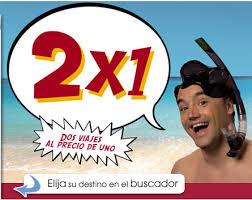 ofertas de viajes 2x1