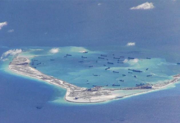 islas artificiales de china