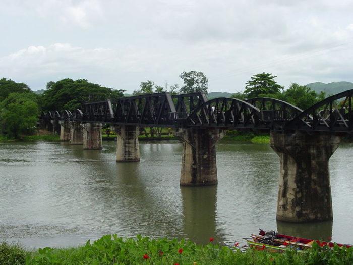 Puente sobre el Rio Kwai.