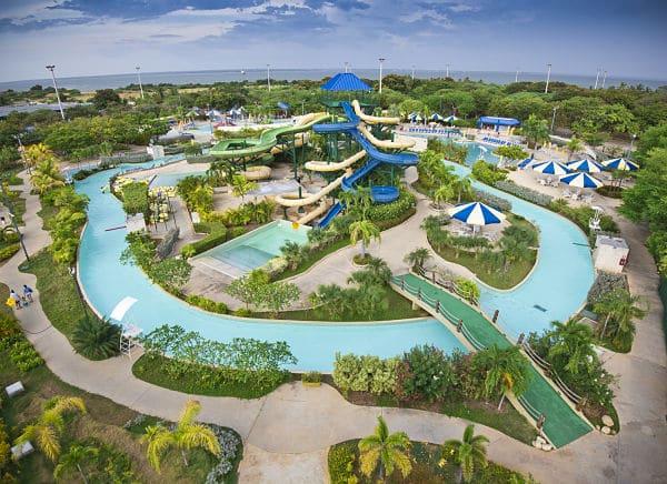 Vista aérea del Parque Aguamanía