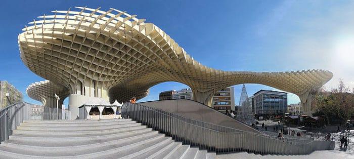 Impresionante estructura contemporánea en Sevilla