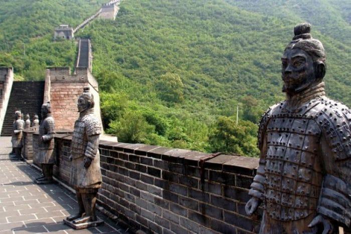 Detalles de la Gran Muralla China
