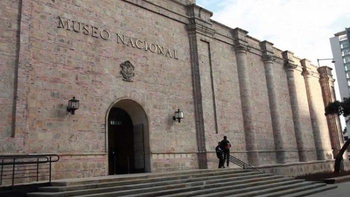 Fachada de la antigua Penitenciaría de Cundinamarca ahora Museo Nacional de Colombia