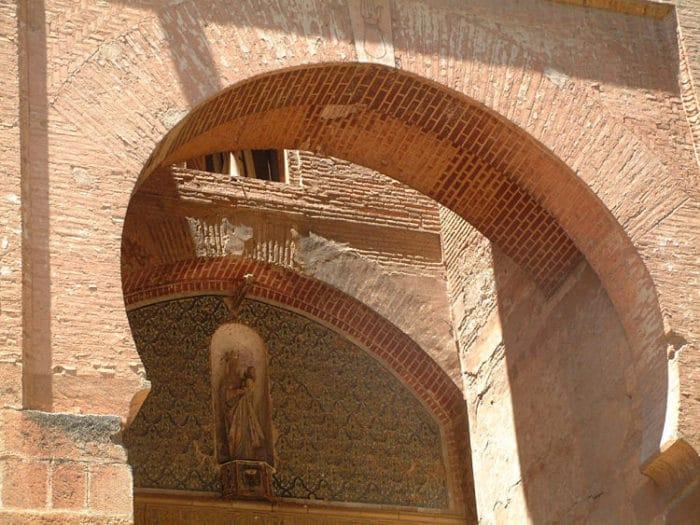 Puerta de la Justicia al sur de la Alhambra