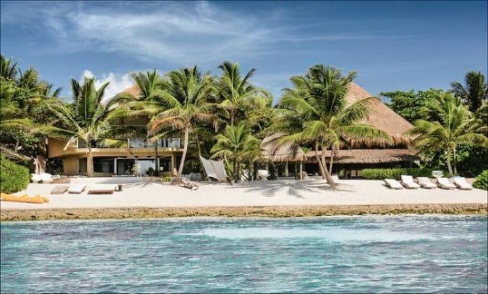 Uno de los hospedajes disponibles para los turistas en Puerto Aventuras