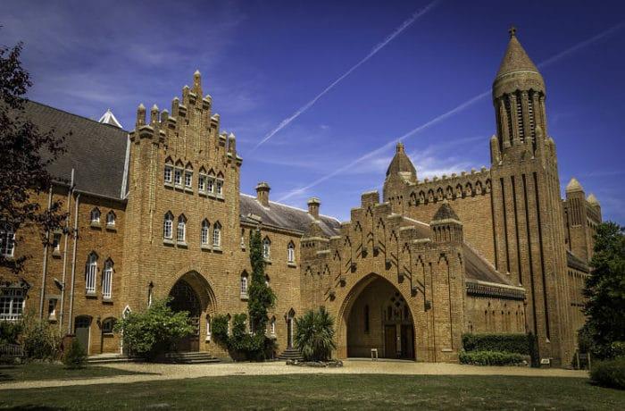 Imagen de la imponente Abadía