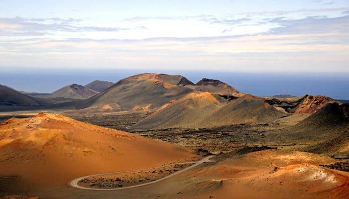 Vista del Parque Nacional Timanfaya