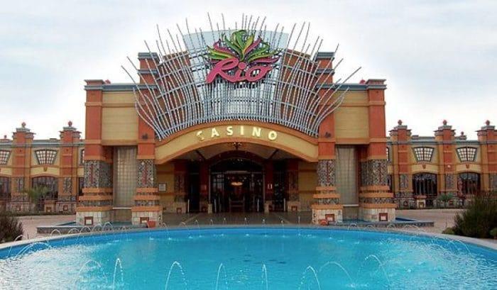 La entrada de este maravilloso casino en Sudafrica