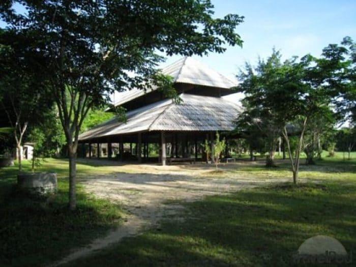 Sala de meditación del monasterio