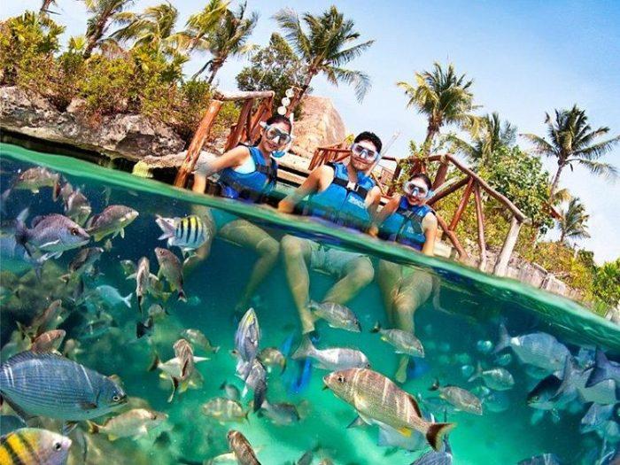 Este acuario natural es el paraíso del snorkeling