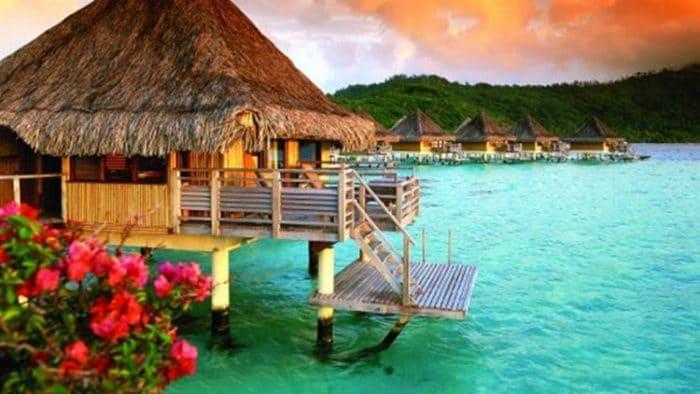 Uno de los tipos de alojamiento que puedes encontrar en Bora Bora