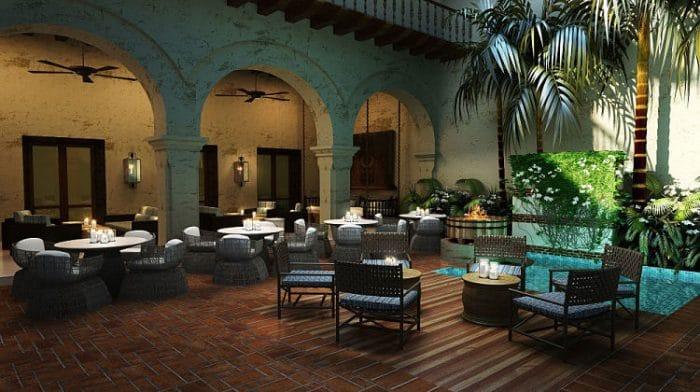 Terraza del Hotel Casa San Agustín