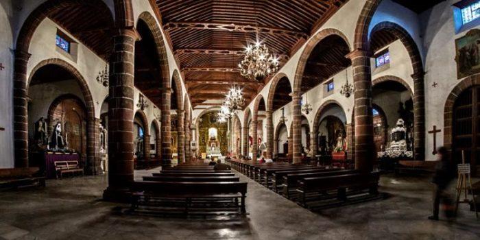 Interior de la Parroquia Matriz Nuestra Señora de la Concepción