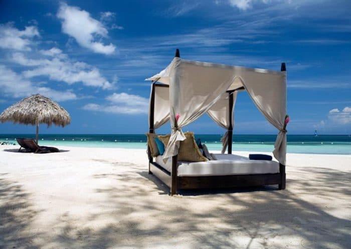 Uno de los lugares exclusivos para luna de miel en Jamaica