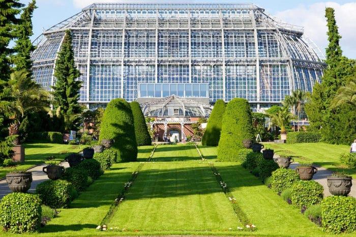 Uno de los Invernaderos del Jardín Botánico de Berlín