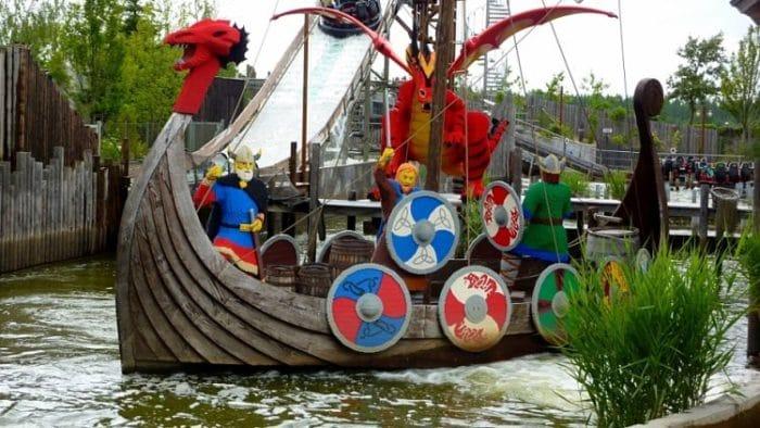 Barco Vikingo en Legoland