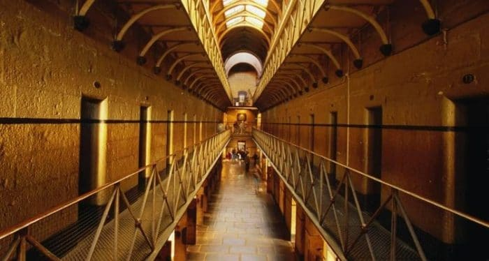 Uno de los pasillos del Museo