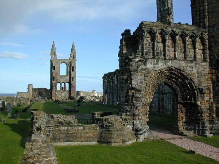 Ruinas de la catedral de Saint Andrews
