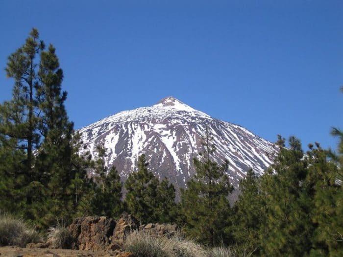 Magnifica vista del Volcán Teide