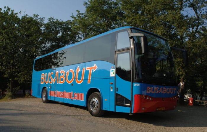 Una de las unidades confortables de Busabout
