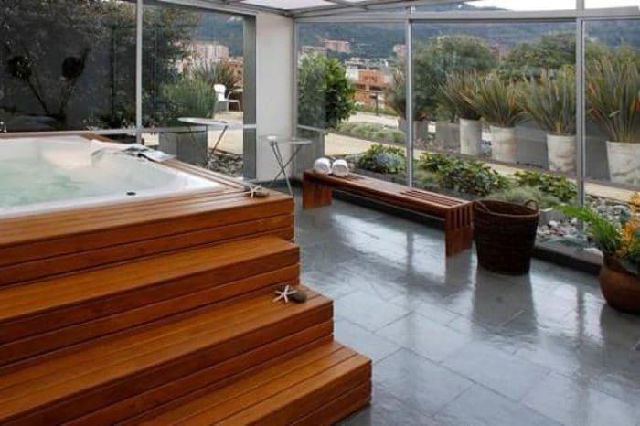 Spa del Club House Bogotá