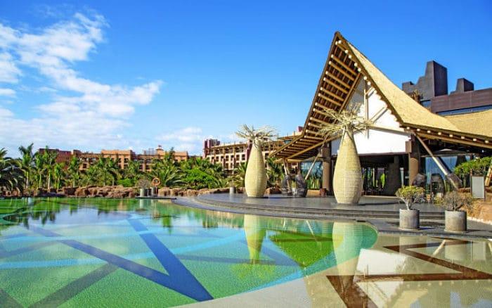 Mágica temática Africana del Resort