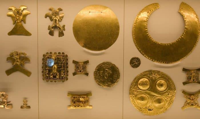 Parte de lo que podremos ver en el Museo del Oro Precolombino