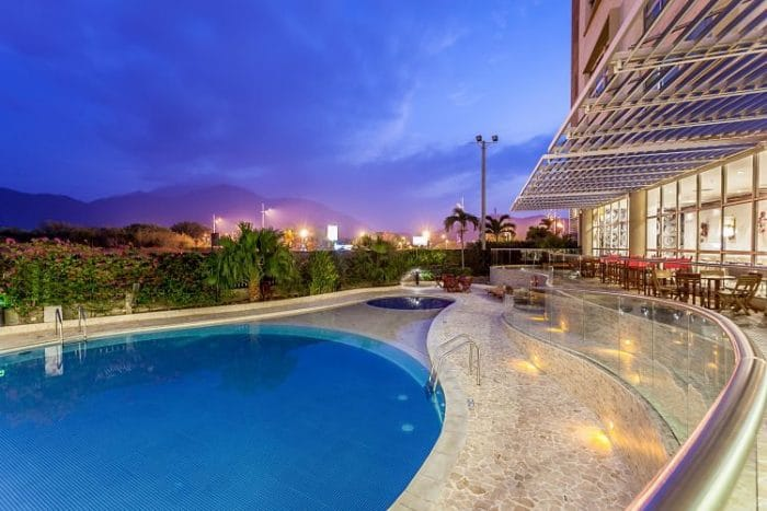 Deliciosa piscina del Sonesta Hotel Valledupar