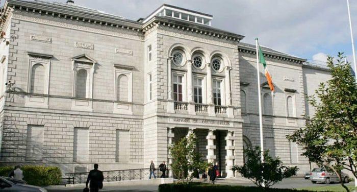 Fachada de la Galería Nacional de Irlanda en Dublín