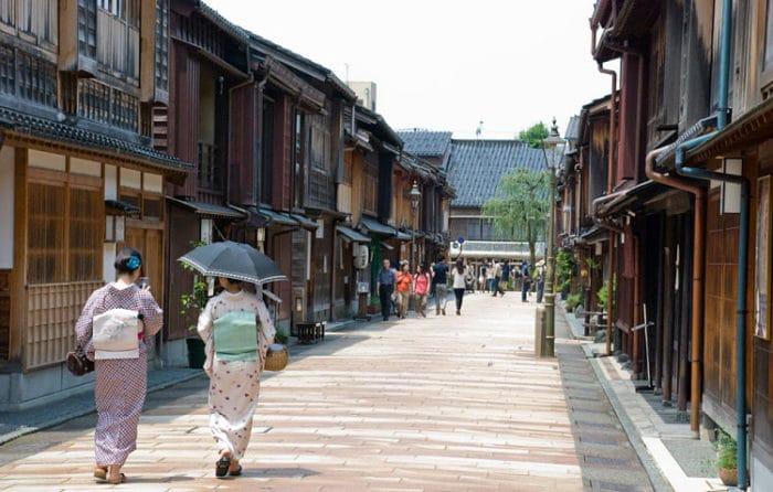 Distrito de las Geishas en Kanazawa