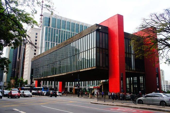 Fachada del Museo de Arte de Sao Paulo