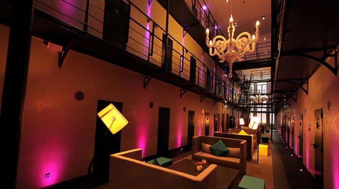 Lounge del Hotel Arresthuis