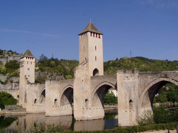 Puente del Diablo en Cahors, Francia