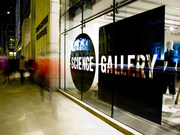 Exterior de la Galería de Ciencias de Dublín