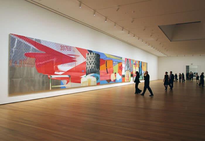 Una de las exhibiciones del Museo de Arte Moderno en Nueva York