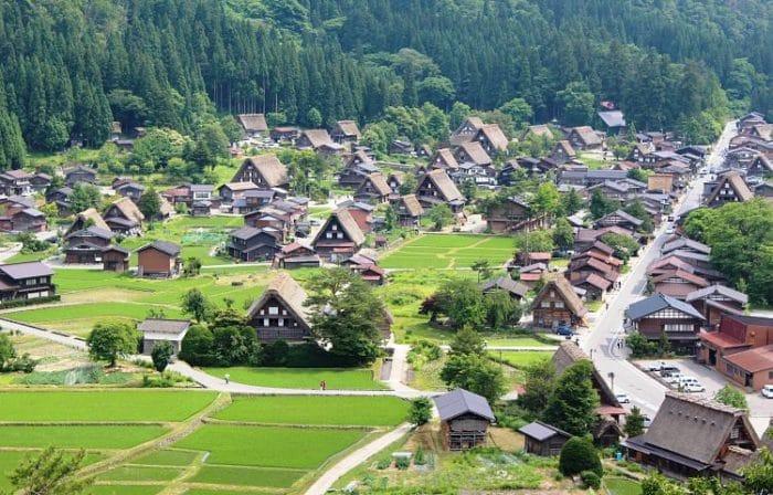 El hermoso pueblo de Takayama