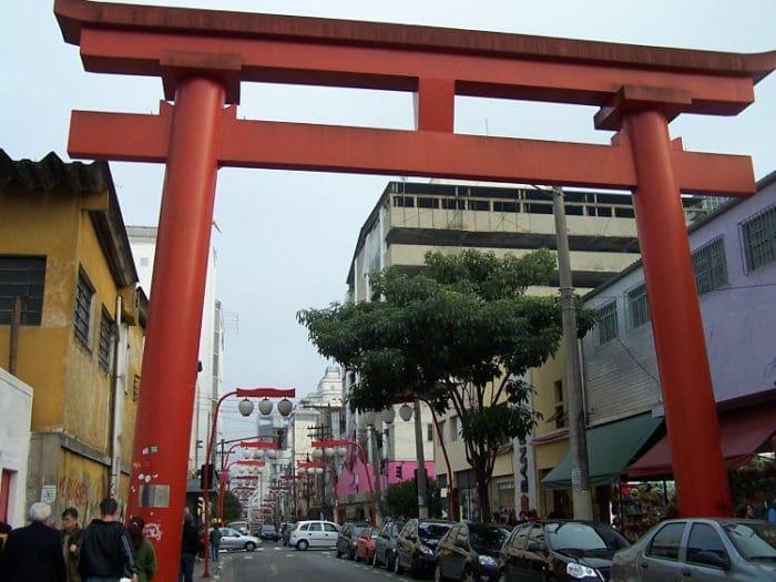 Arco que marca la entrada al Distrito Libertad