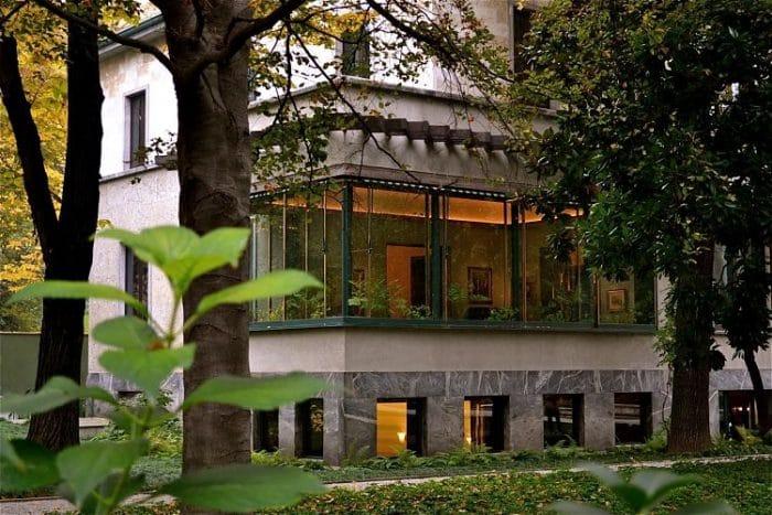Exterior de la Villa Necchi Campiglio