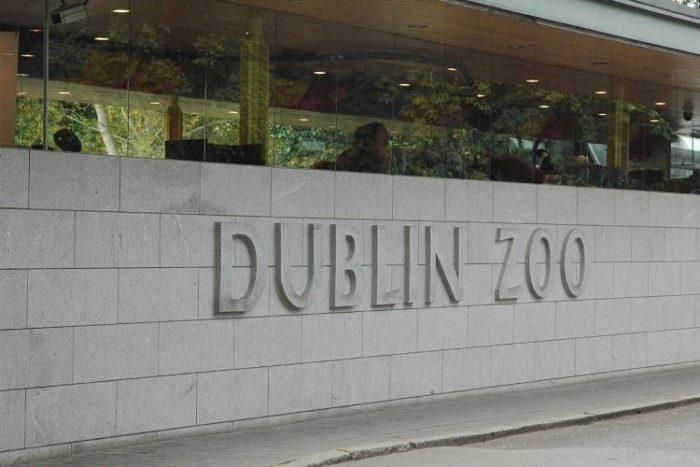 Entrada al Zoológico de Dublín