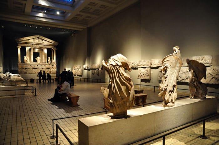 Parte de la colección romana del Museo Británico