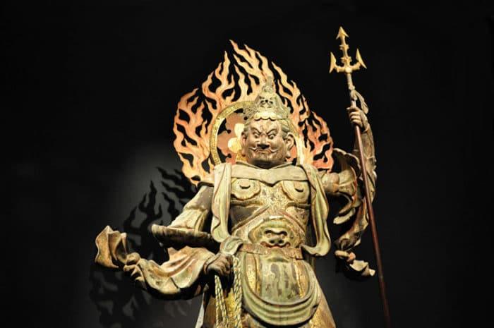 Una de las piezas que se encuentran e el Museo nacional de Tokyo