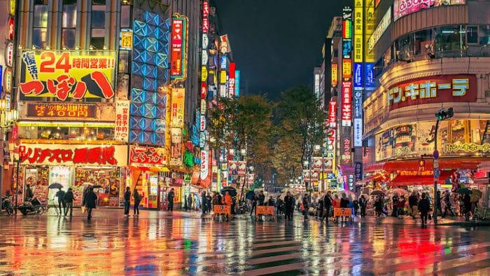 Tokyo, capital de Japón con sus luces y ajetreo habitual