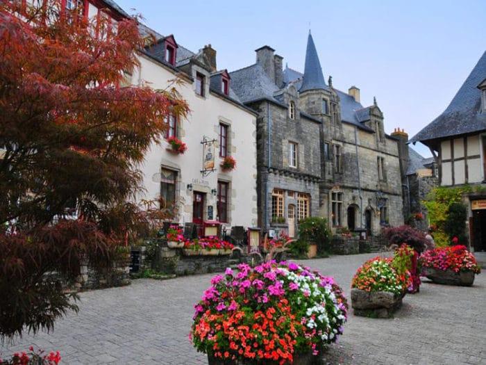 Hermosas calles de Rochefort-en-Terre