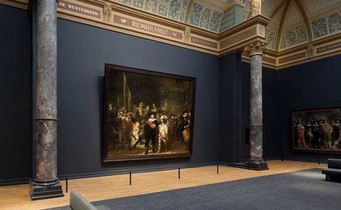 Interior del Rijksmuseum en Ámsterdam